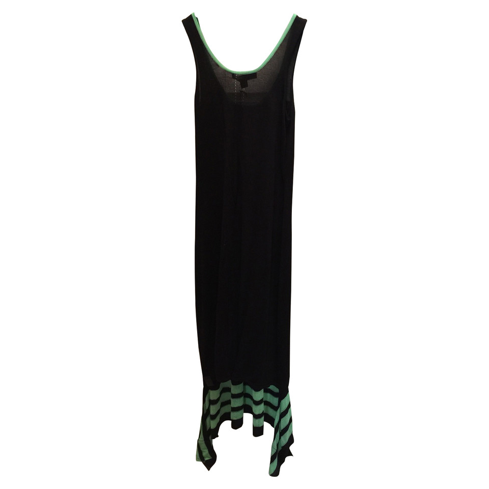 Y-3 Black and green dress