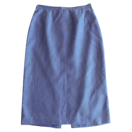 Cacharel Linen skirt in blue