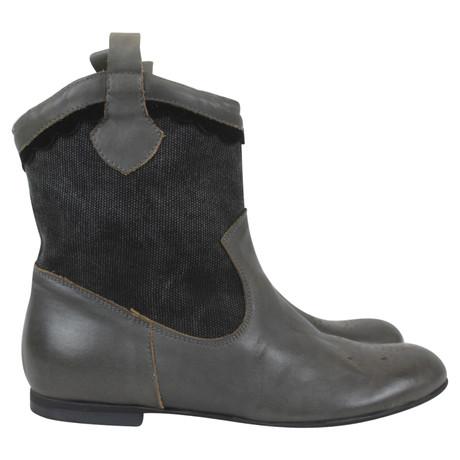 Noa Noa Boots Grau