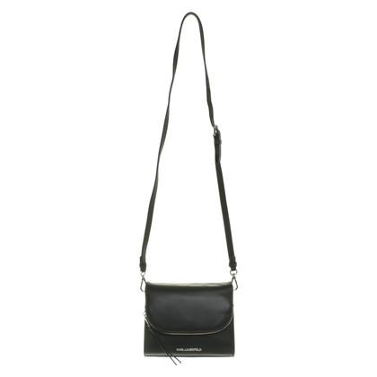 Karl Lagerfeld Sac à bandoulière en noir
