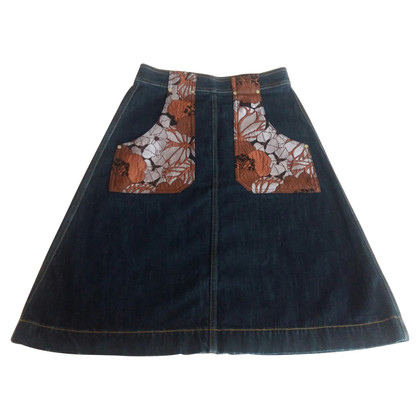 Maliparmi denim skirt