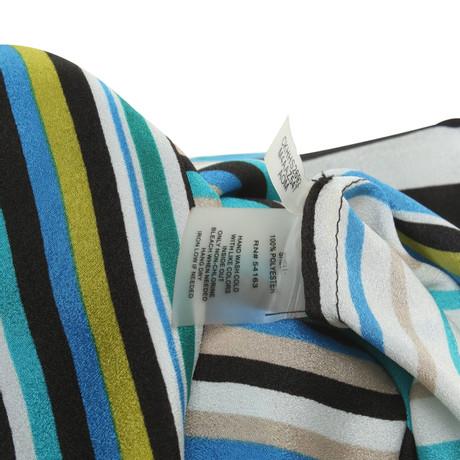Calvin Bunt mit Klein Klein Klein Calvin Streifenmuster mit Muster Calvin Bunt Muster Streifenmuster Bluse Bluse aqwxSnp1A8