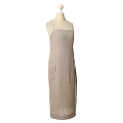 Donna Karan Sheath dress in grey/beige