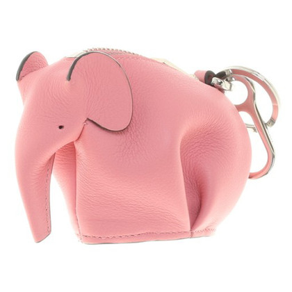 Loewe Coin purse with carabiner