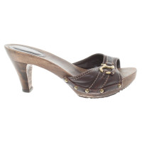 Bally Mules in brown