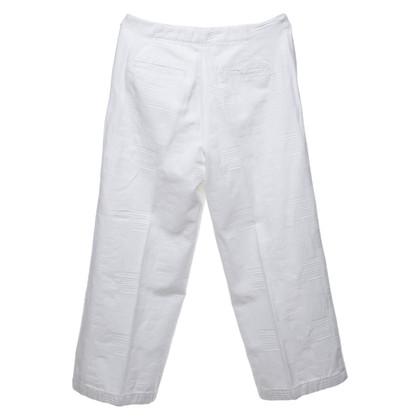 Tory Burch Pantaloni in bianco