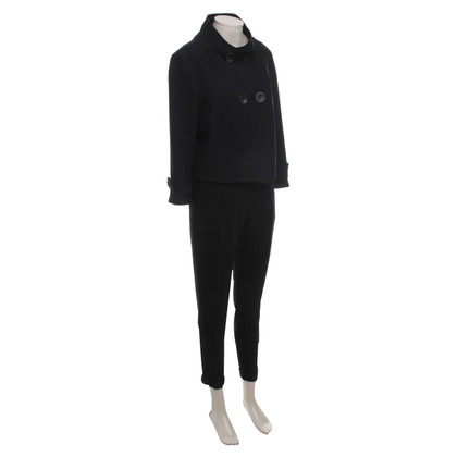 Marc Cain Tailleur pantalone in nero