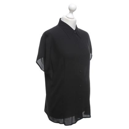 Marina Rinaldi camicetta di seta in nero