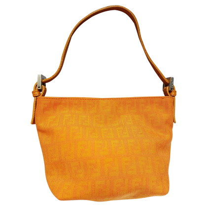 Fendi Handtas in Orange
