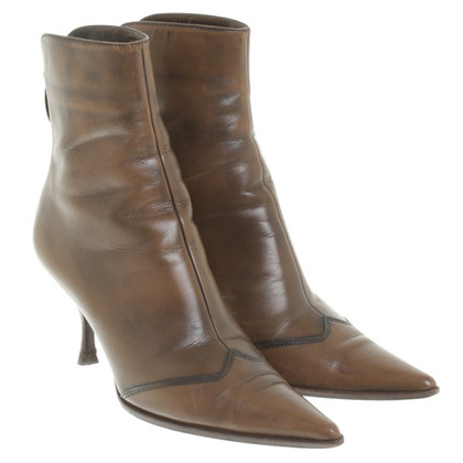 Sergio Rossi Ankle boots in cowboy style