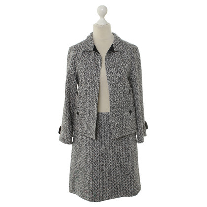 Chanel Bouclé-Kostüm mit Muster
