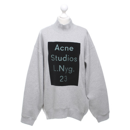 Acne Sweatshirt mit Logoprint