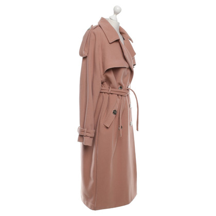 Marcel Ostertag Trench en rose clair