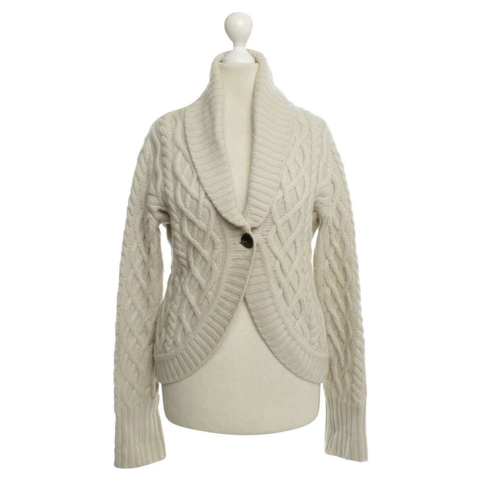 René Lezard Cardigan in cashmere