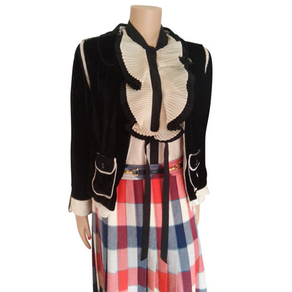 Dolce & Gabbana Jas gemaakt van zijde / velours