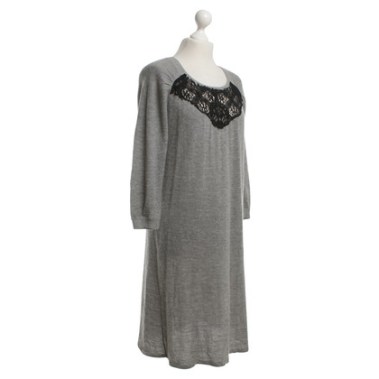 Vanessa Bruno Gebreide jurk in grijs