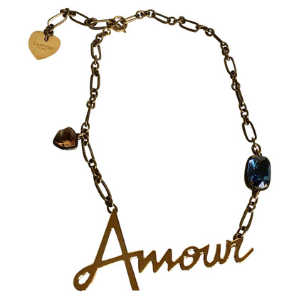 "Lanvin ""Amour"" necklace"