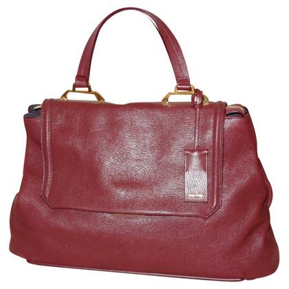 Miu Miu Handbag in Bordeaux