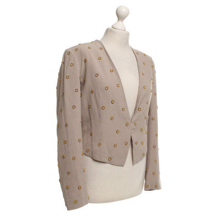 Hoss Intropia Kurzblazer in Beige