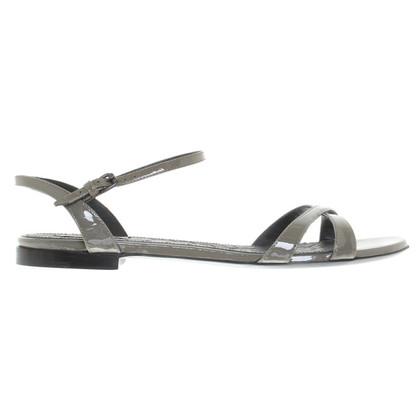 Bottega Veneta Sandals of patent leather