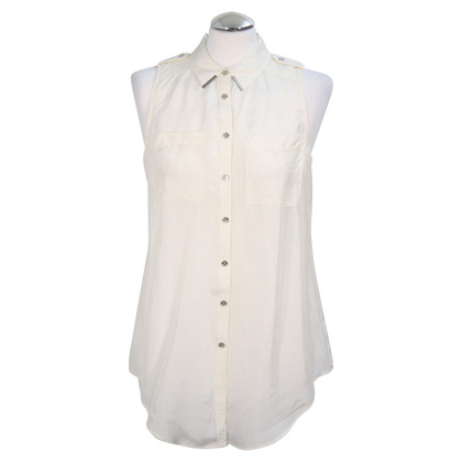 Armani Silk Top in White