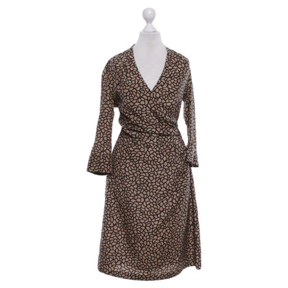 René Lezard Kleid mit Muster