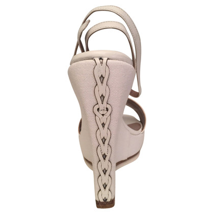 Ferre Witte sandalen