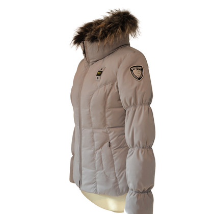 Blauer USA Down jacket in grey with fur