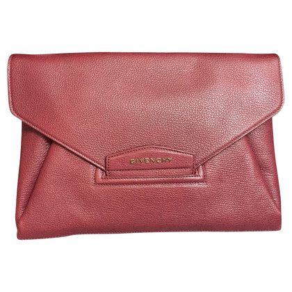 Givenchy clutch in Bordeaux