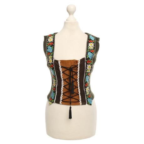 Weste Gabbana Dolce Dolce in Trachten amp; amp; Gr眉n Oliv wzqX6X