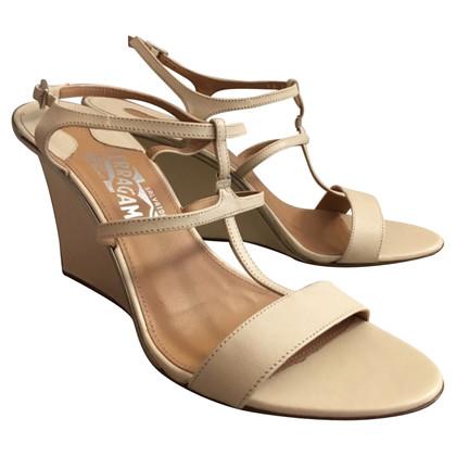 Salvatore Ferragamo Ferragamo beige sandals