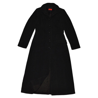 Hugo Boss Black Wool Coat