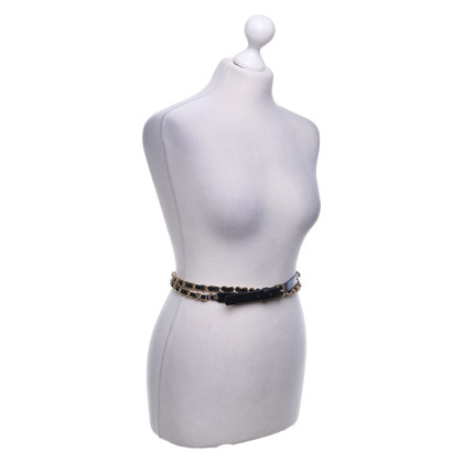 Michael Kors Waist belt with link elements
