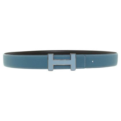Hermès Belt in turquoise