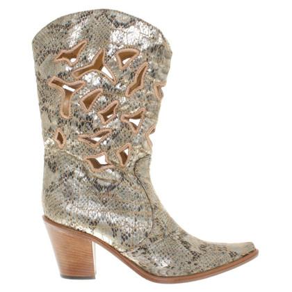 Mariella Burani Boots in reptile look