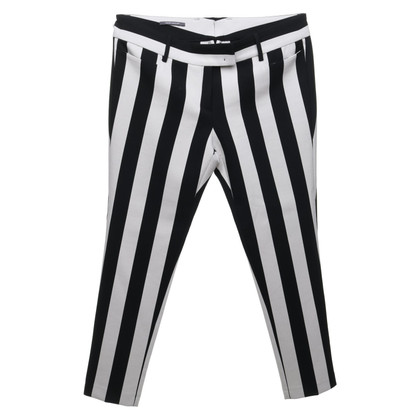 René Lezard trousers in black and white