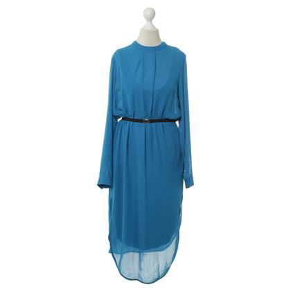 """By Malene Birger Elegantes Kleid """"Ulfaria"""" in Königsblau"""