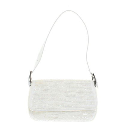 Rena Lange Handbag with sequin trim
