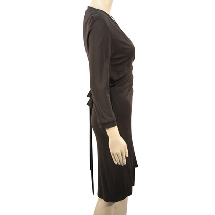 Diane von Furstenberg Wikkel jurk in bruin