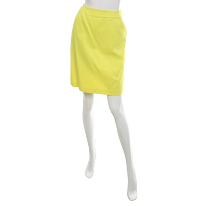 Iceberg Neon Yellow skirt