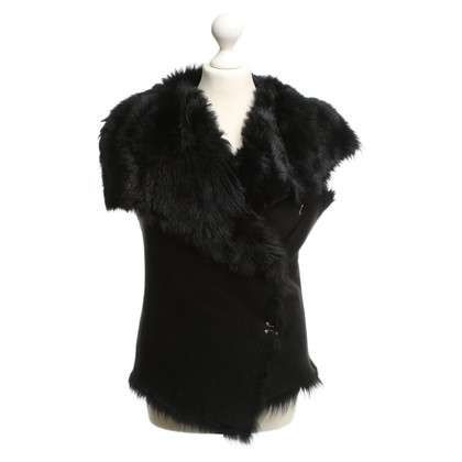 Muubaa Vest with fur