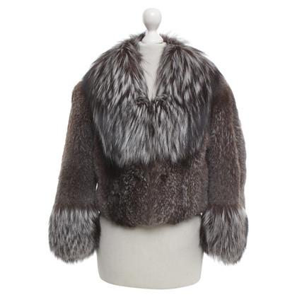 Hugo Boss Jacket with fur trim