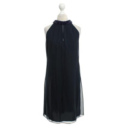 Diane von Furstenberg zijden jurk in blauw