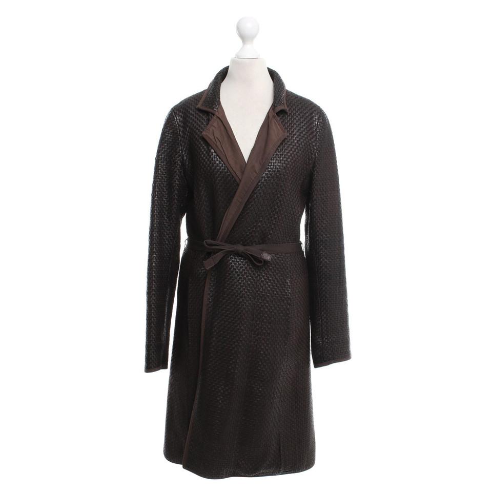 max mara mantel aus leder second hand max mara mantel aus leder gebraucht kaufen f r 309 00. Black Bedroom Furniture Sets. Home Design Ideas