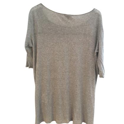 Woolrich Lino e camicia lunga di seta a righe