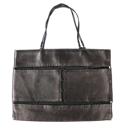 Prada Bag in leather / fabric combination