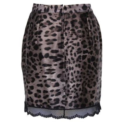 Dolce & Gabbana Animalier skirt