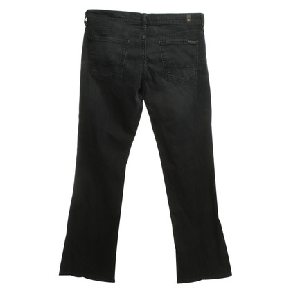 7 For All Mankind Jeans délavé