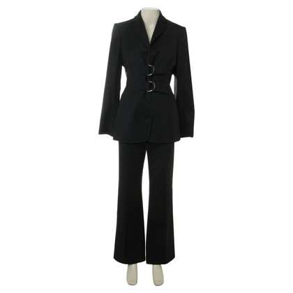 Valentino Trouser suit with straps buckle
