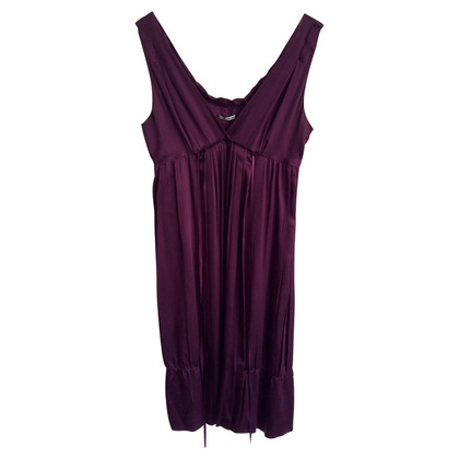Miu Miu Silk dress with pleats